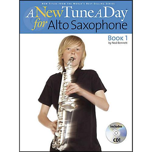 Music Sales A New Tune A Day Alto Sax Book 1 Book/CD