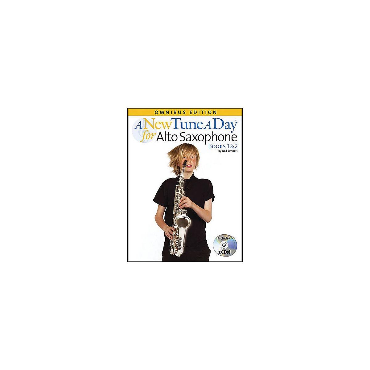 Music Sales A New Tune A Day Alto Sax Omnibus Book & 2 CD'S