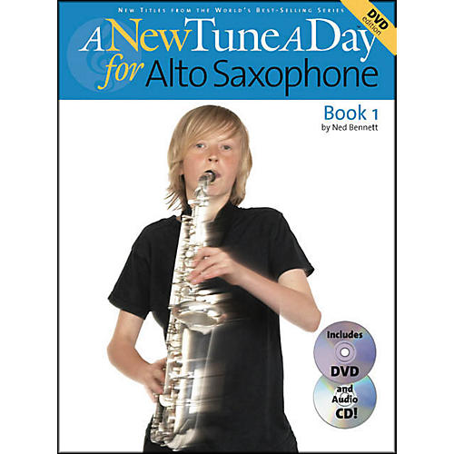 Music Sales A New Tune A Day for Alto Saxophone Book 1 Book/CD/DVD