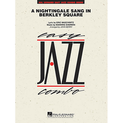 Hal Leonard A Nightingale Sang in Berkeley Square Jazz Band Level 2 Arranged by John Berry