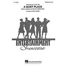 Hal Leonard A Quiet Place SATB DV A Cappella by Take Six arranged by Jerry Rubino