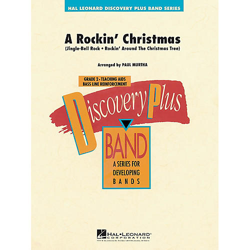 Hal Leonard A Rockin' Christmas - Discovery Plus Concert Band Series Level 2 arranged by Paul Murtha