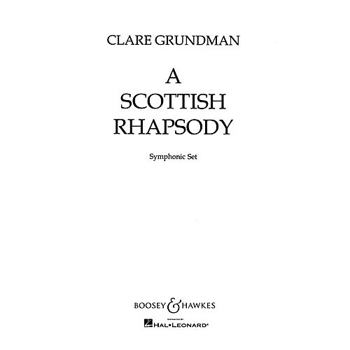 Boosey and Hawkes A Scottish Rhapsody (Score and Parts) Concert Band Composed by Clare Grundman