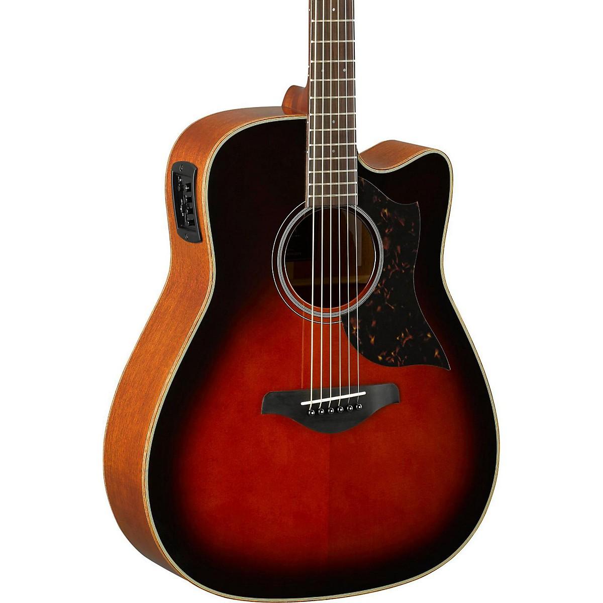Yamaha A-Series A1M Cutaway Dreadnought Acoustic-Electric Guitar