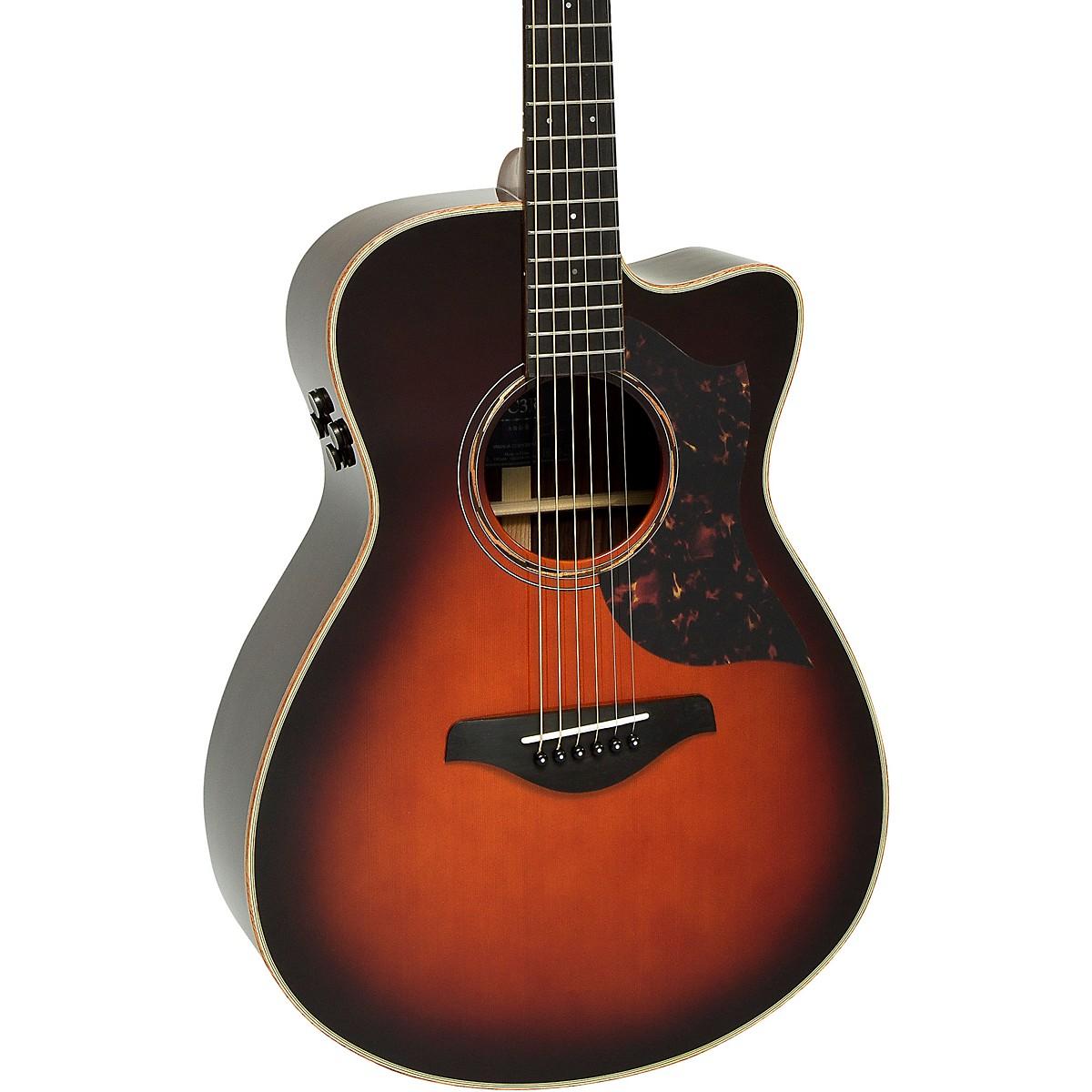 Yamaha A-Series AC3R Concert Cutaway Acoustic-Electric Guitar