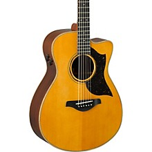 A-Series AC5R Cutaway Concert Acoustic-Electric Guitar Vintage Natural