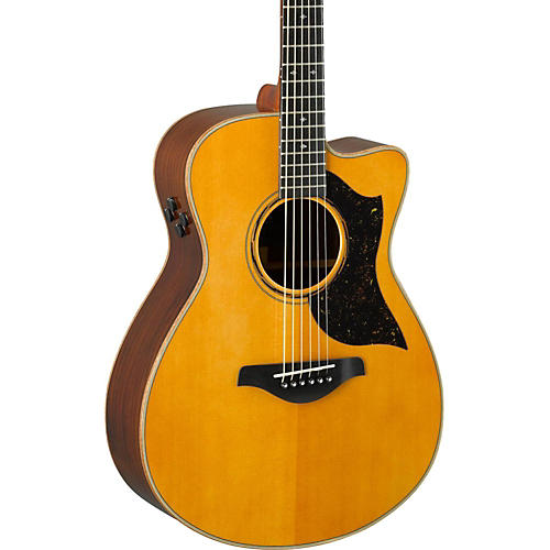 yamaha a series ac5r cutaway concert acoustic electric guitar vintage natural guitar center. Black Bedroom Furniture Sets. Home Design Ideas