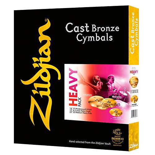 Zildjian A Series Heavy Pack