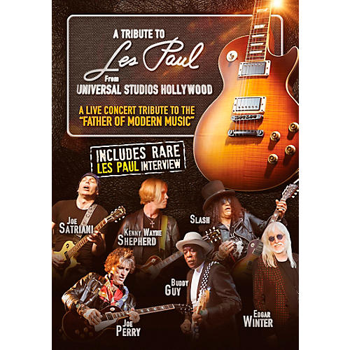 MVD A Tribute To Les Paul: Live From Universal Studios Hollywood DVD