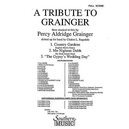 Southern A Tribute to Grainger (Band/Concert Band Music) Concert Band Level 3 Arranged by Chalon Ragsdale