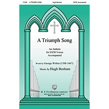 H.T. FitzSimons Company A Triumph Song SATB composed by Hugh Benham