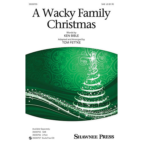 Hal Leonard A Wacky Family Christmas (StudioTrax CD) Studiotrax CD Arranged by Tom Fettke
