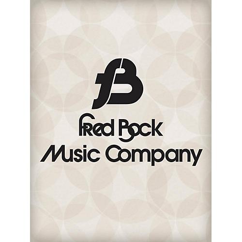 Fred Bock Music A Warm and Pretty Christmas Carol (Thou Didst Leave Thy Throne) SATB Arranged by Fred Bock