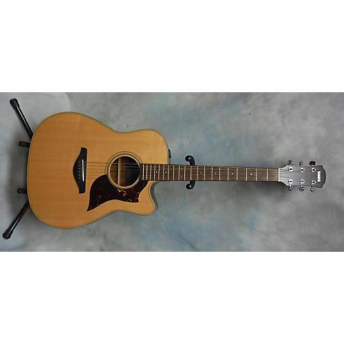 used yamaha a1m acoustic electric guitar guitar center. Black Bedroom Furniture Sets. Home Design Ideas