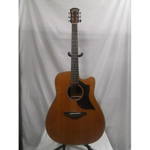 used yamaha a1m acoustic electric guitar vintage natural guitar center. Black Bedroom Furniture Sets. Home Design Ideas