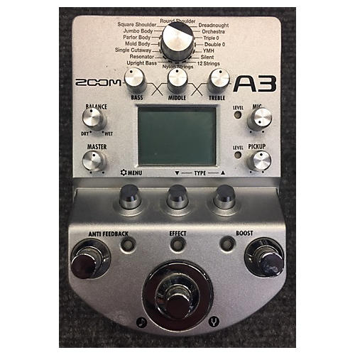 Zoom A3 Pedal