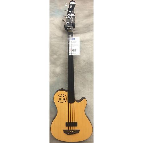 Godin A4 Ultra Fretless Bass Natural Electric Bass Guitar