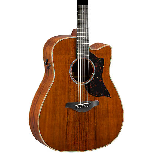 Yamaha A4KII Limited Koa Dreadnought Acoustic-Electric Guitar