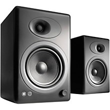 A5+ Classic Bookshelf Speakers Black
