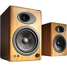 A5+ Classic Bookshelf Speakers Natural