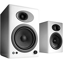 A5+ Classic Bookshelf Speakers White