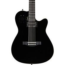 A6 Ultra HG Semi-Acoustic Electric Guitar Level 2 Black 190839606617