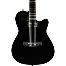 A6 Ultra HG Semi-Acoustic Electric Guitar Level 2 Black 190839843203