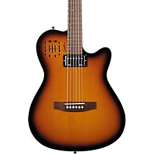A6 Ultra HG Semi-Acoustic Electric Guitar Level 2 Cognac Burst 190839787316