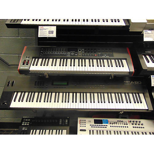 used roland a80 midi controller guitar center. Black Bedroom Furniture Sets. Home Design Ideas