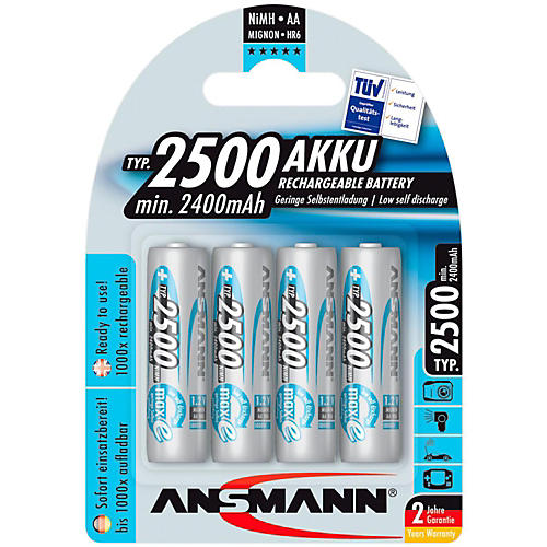 Ansmann AA 2500 Max-E Battery