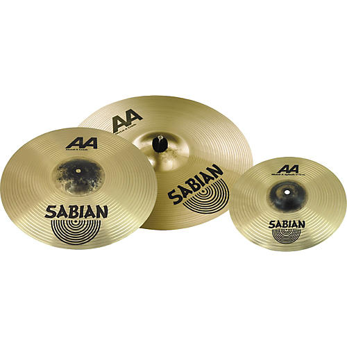 sabian aa metal x 17 and 19 crash cymbal pack with free 10 splash guitar center. Black Bedroom Furniture Sets. Home Design Ideas