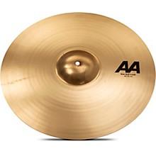 AA Raw Bell Crash Cymbal 20 in. Brilliant