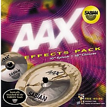 Sabian AAX 2-Piece Effects Cymbal Pack