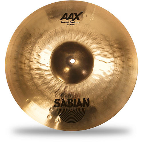 sabian aax concept crash cymbal 16 in guitar center. Black Bedroom Furniture Sets. Home Design Ideas