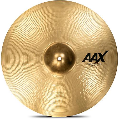 Sabian AAX Crystal Thin Crash
