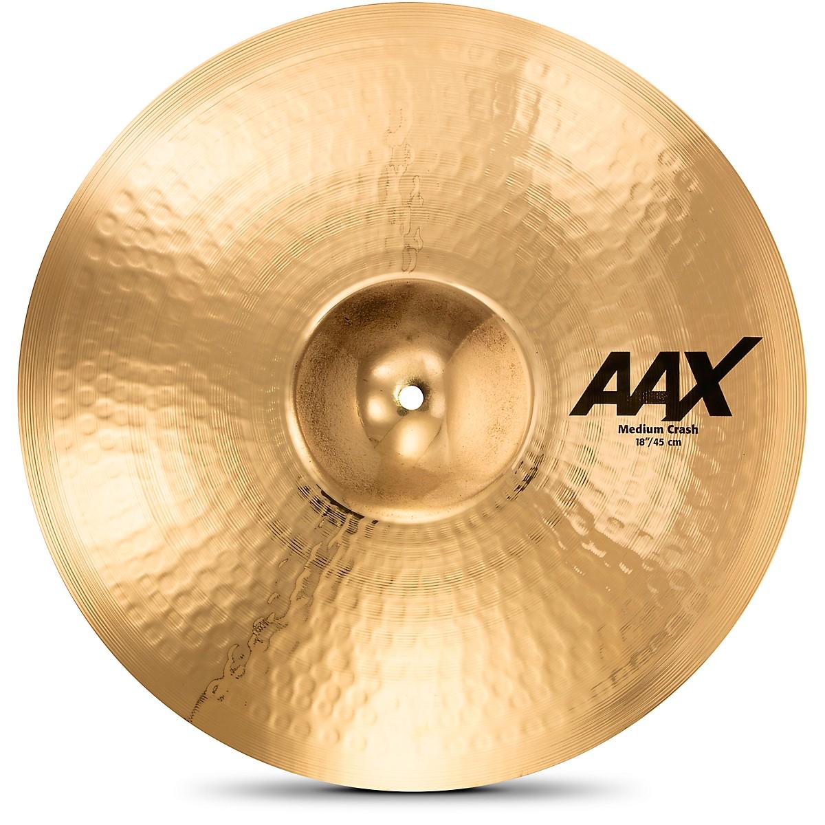 Sabian AAX Medium Crash Cymbal Brilliant