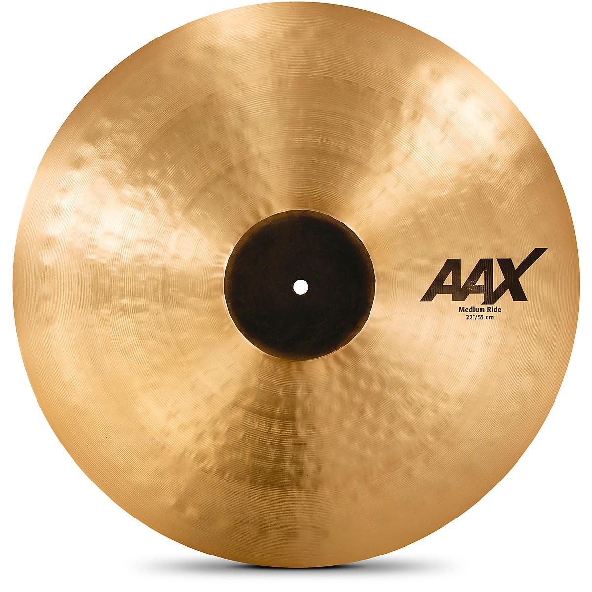 Sabian AAX Medium Ride Cymbal Brilliant