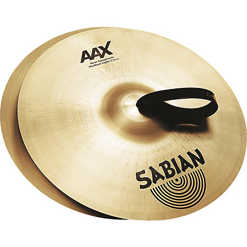 Sabian AAX New Symphonic Medium Light Cymbal Pair