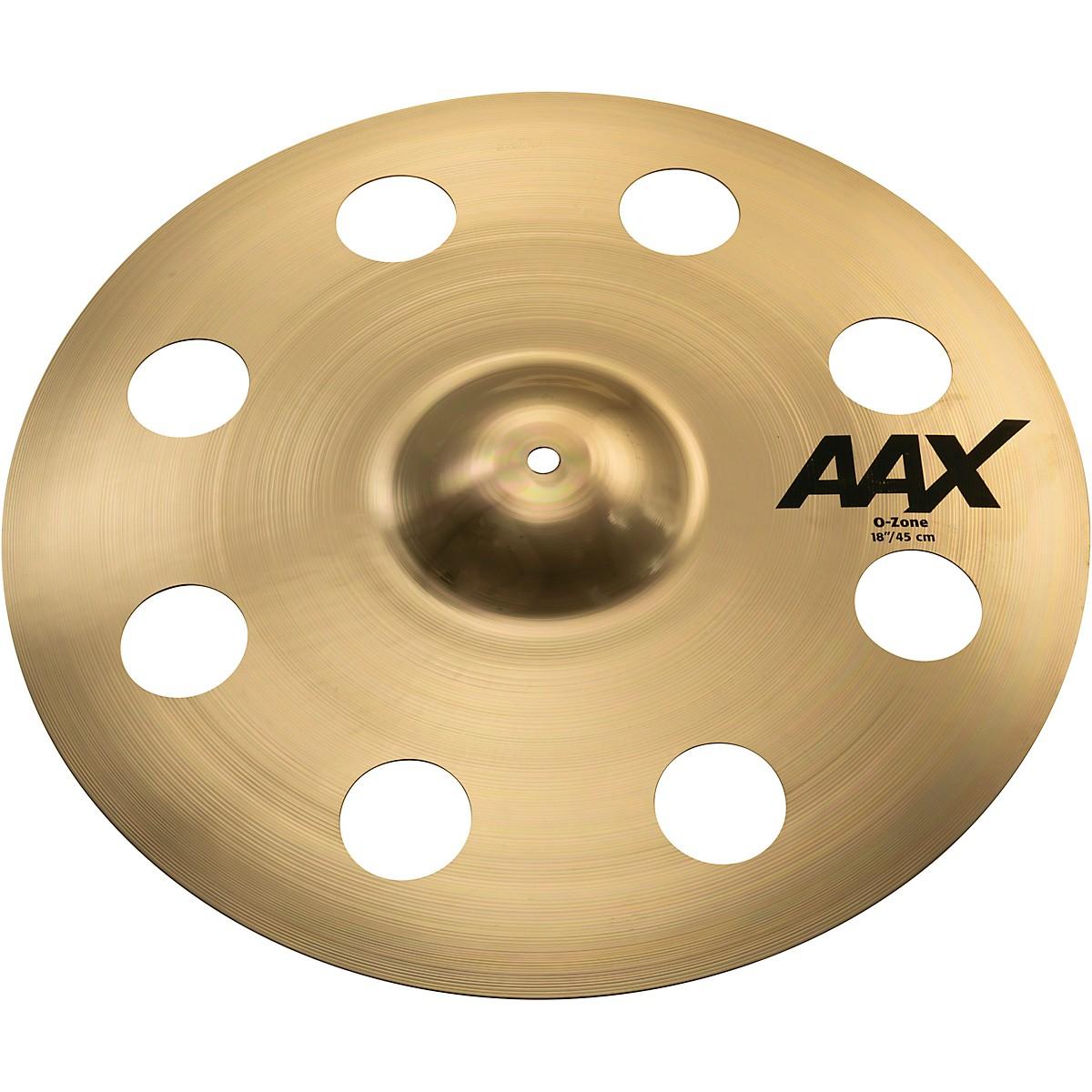 Sabian AAX O-Zone Crash Brilliant Cymbal