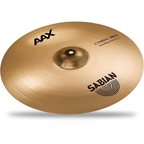 Sabian AAX Series Recording Crash Cymbal Brilliant