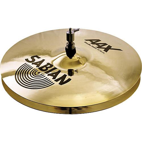Sabian AAX Stage Hi-Hat Cymbals Brilliant