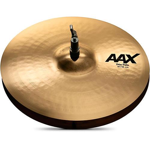 Sabian AAX Thin Hi-Hats Brilliant