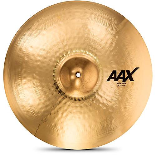 Sabian AAX Thin Ride Cymbal, Brilliant