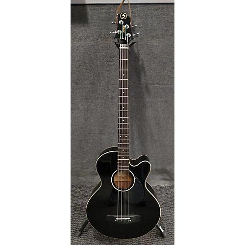 Greg Bennett Design by Samick AB-2/BK Acoustic Bass Guitar