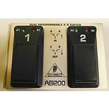 Behringer AB200 Dual AB Footswitch
