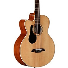 Alvarez AB60LCE Left-Handed Acoustic-Electric Bass Guitar