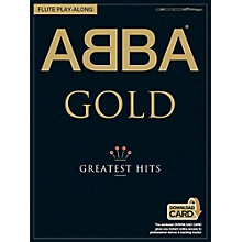 Music Sales ABBA Gold Greatest Hits Flute Play-Along (Book/Online Audio)
