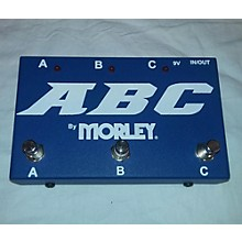 Morley ABC FOOTSWITCH Pedal