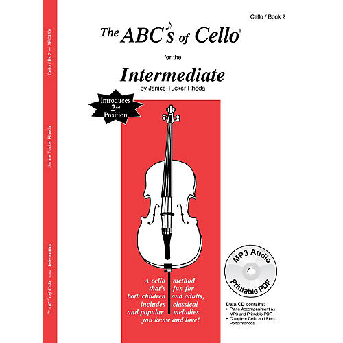 Carl Fischer ABC's of Cello - Intermediate (Book + CD)