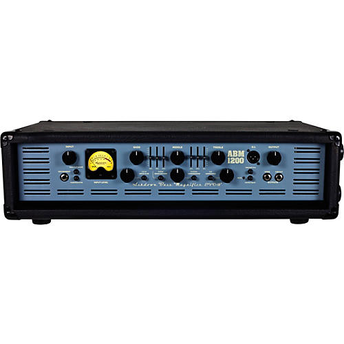 Ashdown ABM-1200-EVO IV 1,200W Tube Hybrid Bass Amp Head